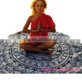2016 Wholesale Beautiful Round Mandala Roundie Yoga Mat Beach Kaftans Tunics