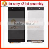 Full LCD Display+Touch Screen Digitizer For Sony Xperia Z2 lcd monitor D6502 D6503 perfect testing