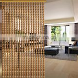 Wooden bead curtain on the wall for room divider                                                                         Quality Choice