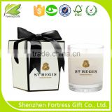 ribbon decorative luxury candle box packaging                                                                         Quality Choice