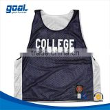 Wholesale Sports Customized Team College Lacrosse Mesh Pinnies