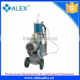 Alex mini home use milk machine ,milk sucking machine ,milk extracting machine for cattle,horse and sheep