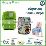 Happy Flute newborn cloth diaper bamboo charcoal baby diaper best products for import baby diapers manufacturer in china