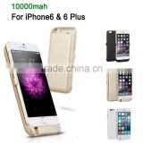 New 10000mAh Power bank case pack battery Charger cover for iPhone6 4.7 & 6 Plus                                                                         Quality Choice