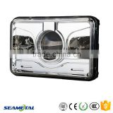 "4""X6"" Inch Car Universal 22W 2200LM With CREE Chips LED Headlight Head lamp DOT Approved"