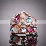 Hot Selling Fashion Adjustable Jewelry Rings white gold diamond ring