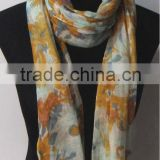 Fashion Linen Print Scarf