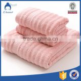 China OEM embroidery logo 16s towels bath set 100% cotton luxury hotel