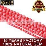 fashion gemstone Crystal beads wholesale natural Rhodocroshite loose beads semi DIY handmade beaded jewelry chain
