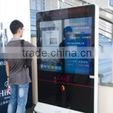 High quality big size slim floor android digital signage android digital signage floor standing lcd advertising player