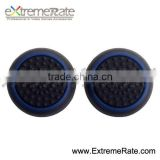 Black Base With Blue Rubber Thumbstick Grips Thumb Stick Grip for PS4/PS3/XBOX ONE/360 Controller