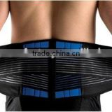 Adjustable Breathable Sports Neoprene Black Waist Sweat Belt/Adjustable waist trimmer belt