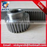 High precision C45 steel spur gear with teeth ground