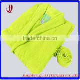 Hot sale fashion cotton terry bath robe towel with belt gaoyang wholesale