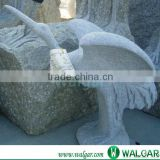 stone bird carving sculpture