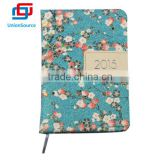 Promotional soft pu leather cover note book