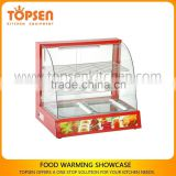 Large Display Hot Food Warmer,Pastry Electric Food Warmer Cabinet