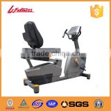 New Promotion Deluxe Commercial Recumbent magnetic bike Cardio Exercise Equipment in bodybuilding and strong LJ-9602A