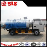 Dongfeng suction -type sewer scavenger, vacuum sewage suction truck