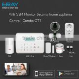 Factory price wireless gate way/ garage door/ access control smart GSM Alarm System home security GSM Alarm System GT1