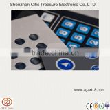 Smooth keypad stickers adhesive membrane switch