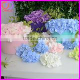 blue pink white artificial silk hydrangea petals flowers