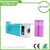 Factory directly supplies high capacity 5200mAh portable charger power bank for andriod cell phone