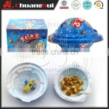 UFO Chocolate Cup with Biscuits & Toy