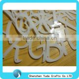 laser cutting acrylic alphabet letter for baby toy decorating wall house christmas accessories decoration