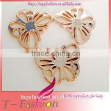 Buckle type Brilliant Wholesale beautiful Young sexy girls top gold swimwear accessories modelsmetal swimwear accessories