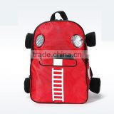 adorable scooter kids bag with red color