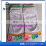 women's cute colorful pattern knitting sports gym yoga comfortable short socks