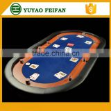 Two foldable poker table dimension poker table top