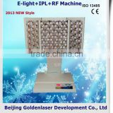2013 Cheapest Price Beauty Equipment E-light+IPL+RF Machine 2.6MHZ Cold Laser Therapy Weight Loss Speckle Removal
