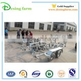 High quality Galvanized boat trailer for rc boat