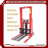 Stepless Speed Change Battery Pallet Lifter Manual Semi Electric Stacker Price
