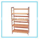 High quality handmade FSC wooden shoe rack wholesale