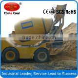 high performance270 rotation 3.5cbm self-loading mobile concrete mixers truck for sale