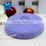 Activated Bamboo Charcoal Facial Skin Care Konjac Sponge