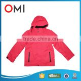 Lovely Child Clothes 80% Cotton 20% Polyester blended down Velour with Padding Long Sleeves Hooded tracksuit