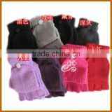 winter woollen horse riding gloves for men