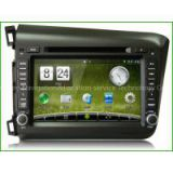 Newsmy DT5231S For Honda Civic 2din car dvd gps CarPAD2 8inch 1024*600 HD touch 4 core Android 4.4 Wince HiFi radio 3g,Car DVD Navigation,special car DVD player,slot in dvd player,central multimedia,car gps player,car double din dvd player,