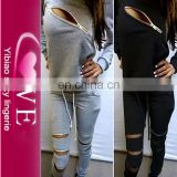 factory direct wholesale from China cotton cheap tracksuits sports wear