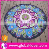 New arrival watermelon shaped round beach towel