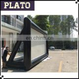 40ft big outdoor projection advertising TV screen inflatable movie screen with factory price