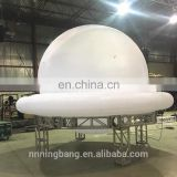 white color 5m wide giant inflatable balloon for event decoration
