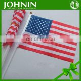 Wholesale Supply By Factory Directly Promotional Plastic Hand Flag