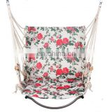 2016 Indoor Hanging cotton fabric hammock chair