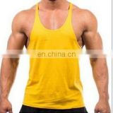Stringer / gym Singlet - 100 cotton mens gym bodybuilding custom strin...