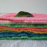 Wholesale yarn dyed jacquard 100% polyester cleaning towels tea towels hand towels
